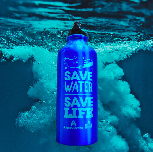 Borraccia Save Water Save Life